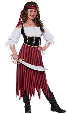 Pirate Maiden Teen Costume