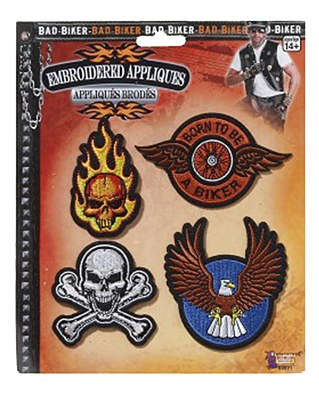 Biker Patches Set