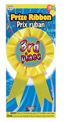 Award Ribbon 3rd Place