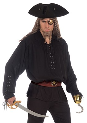 Buccaneer Grommet Pirate Shirt