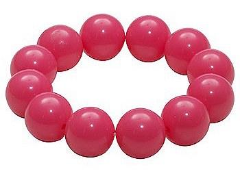80's Gumball Neon Pink Bracelet