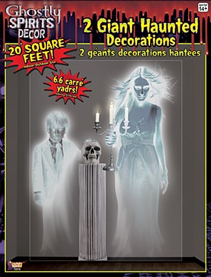 Ghostly Wall Scene Setter Decoration