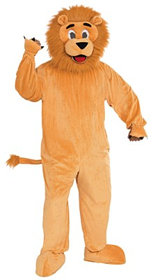 Lion Plush Mascot Adult Costume