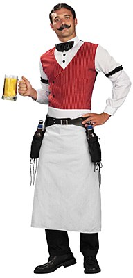 Bartender Adult Plus Costume