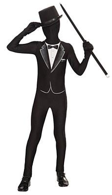 2nd Skin Formal Tuxedo Child Costume