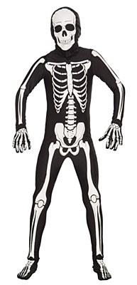 2nd Skin Skeleton Child Costume