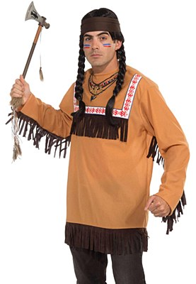 Brave Warrior Indian Adult Costume