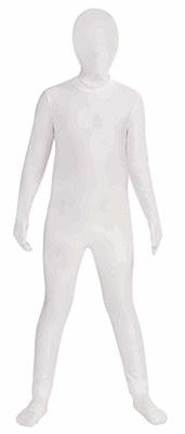 2nd Skin White Morphsuit Child Costume