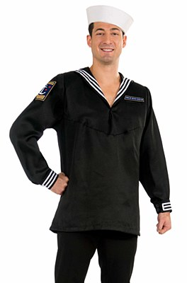 High Seas Navy Sailor Adult Shirt