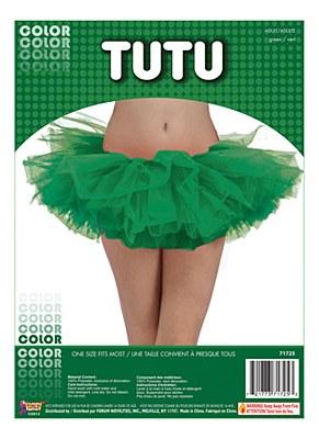 Organza Green Adult Tutu