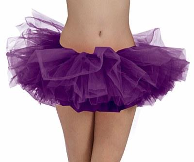 Organza Purple Adult Tutu