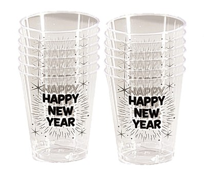 Happy New Year Shot Glasses