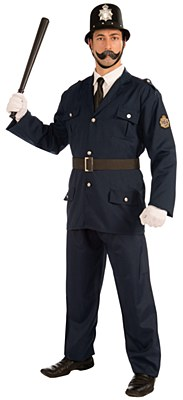 British Bobbie Keystone Cop Adult Costume