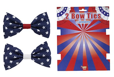 Bow Tie Patriotic Flag