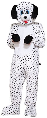 Dotty Dalmation Plush Mascot Adult Costume