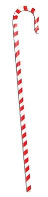 Candy Cane Walking Stick
