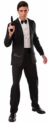 Secret Agent Tuxedo Adult Costume