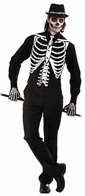 Skeleton Bone Adult Vest