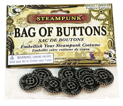 Steampunk Bag Of Buttons