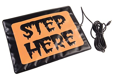 Animated Prop Motion Step Pad