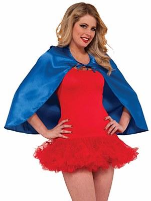 Super Hero Blue Cape