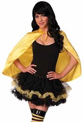 Super Hero Yellow Cape