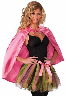 Super Hero Pink Cape