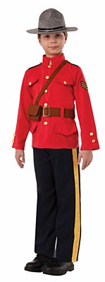 Canadian Mountie Child Costume