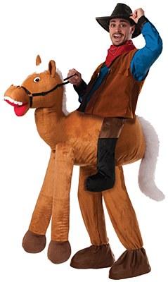 Ride A Horse Deluxe Adult Costume