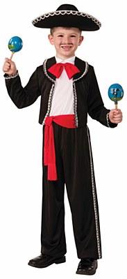 Mariachi Child Costume