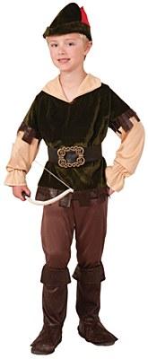 Woodsman Archer Robin Hood Child Costume