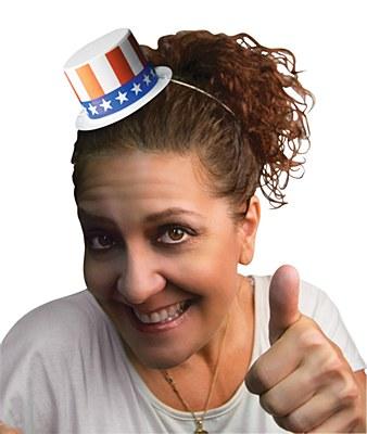 Mini Patriotic Top Hat