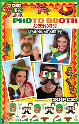 Cinco De Mayo Photo Booth Party Kit