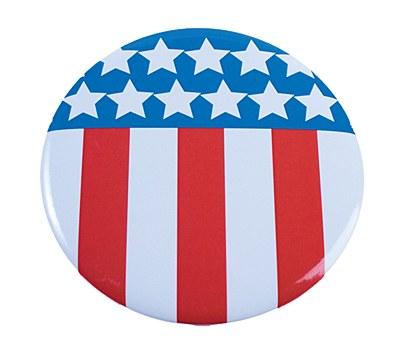 Patriotic Jumbo Buttons
