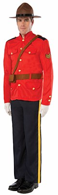 Canadian Mountie Adult Costume
