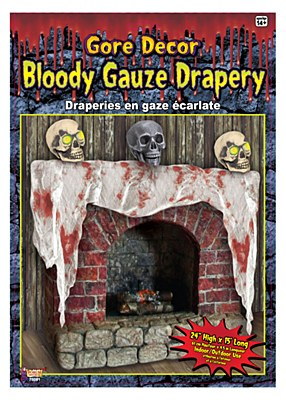 Gore Decor Bloody Gauze Drapery