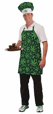 Marijuana Chef Costume Set