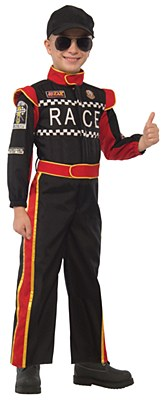 Race Car Driver Child Costume