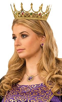 Royal Jewel Gold Crown