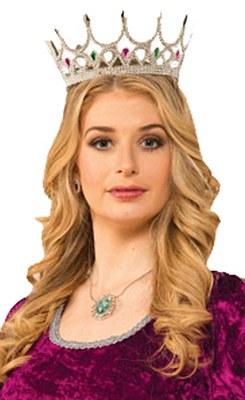 Royal Jewel Silver Crown