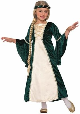 Lady Of Sherwood Princess Child Costume