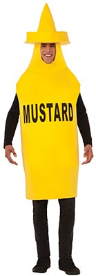 Mustard Bottle Adult Costume