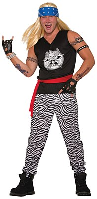 Rock Star Guy Adult Costume