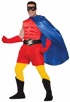 Super Hero Red Boxer Shorts