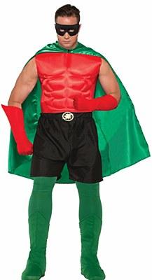 Super Hero Black Boxer Shorts