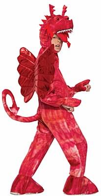 Red Dragon Deluxe Plush Child Costume