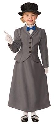 English Nanny / Mary Poppins Child Costume