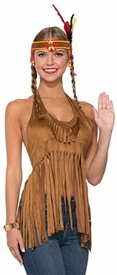 Fringe Hippie / Indian Halter Top