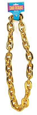 Jumbo Gold Chain Necklace