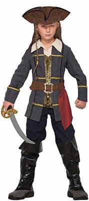 Captain Cutlass Pirate Child Costume